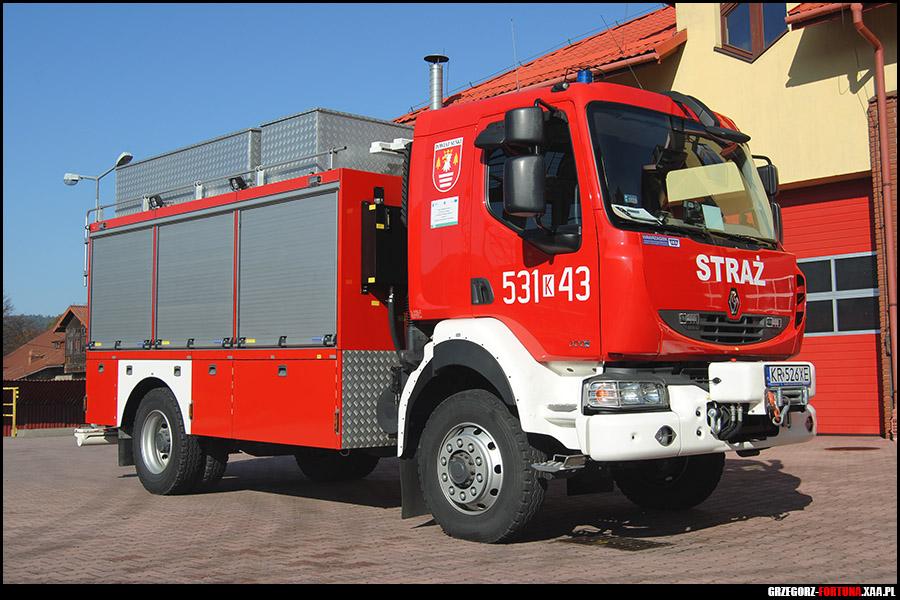 W Mega 531[K]43 - SRt Renault Midlum/ISS Wawrzaszek - JRG Sucha Beskidzka AW59